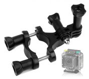 DURAGADGET High Quality Bike Handlebar Mount For Extreme Sports Action Camera EE 4GEE