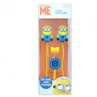 Minions Despicable Me In-Ear Earphones