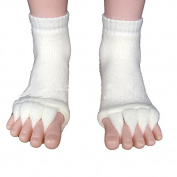 EQLEF® Multifunctional Cotton Toe Alignment Socks Toe Separator Socks