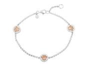Gemma J Paw Print Bracelet