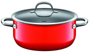 Silit 224175811 Stewing PaN D,24 CM, Passion Red