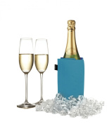 Pulltex Wine and Champagne Cooling Sleeve-Blue / navy