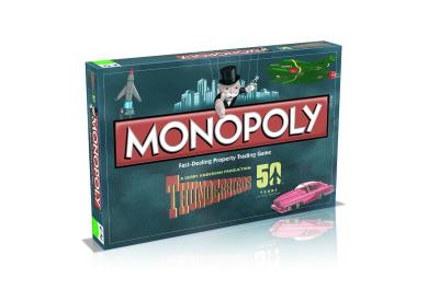 Thunderbirds Retro Monopoly Game