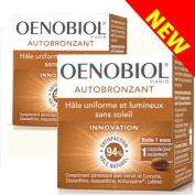 Oenobiol - Self-tanner Oenobiol capsules - Autobronzant Hâle uniforme et lumineux sans soleil - Pack x 2