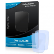 2 x SWIDO Crystal Clear Screen Protector for Garmin VIRB - PREMIUM QUALITY