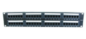 48 Port 2U Rack Mountable CAT6 Patch Panel - Support T568 A & B wiring & Easy installation - Dual IDC connector can accept 22-26 AWG solid and stranded UTP cables - Compatible with 110 or Krone Tools - can be mounted in 48cm Racks - Meets the TIA/EIA-5 ..