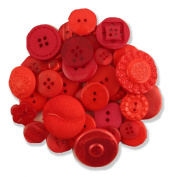 Buttons Galore Grab Bag Big Red Button