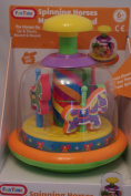 Fun Time Merry-Go-Round Spinning Horses