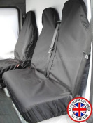 Ford Transit 2015 High Quality Heavy Duty Waterproof Van Seat Covers Protectors - GREY