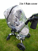 2 in 1 Rain Cover for Quinny buzz icandy mamas and papas