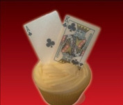 PLAYING CARDS Full Deck + Jokers Edible Cake Toppers by Baking Bling