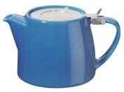 Forlife 380ml Stump Infuser Teapot Blue 509BLU