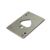 amazing-trading(TM) Stainless Steel Credit Card Bottle Opener