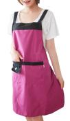 Leben Womens Ladies Fancy Solid colour waterproof Kitchen Apron