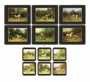 Pimpernel Tally Ho, 6 Placemats + 6 Coasters