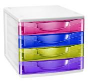 CEP Cepbox Happy 4 Drawer Unit - Multicolor