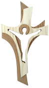 Crucifix Wooden for the Wall Modern 19 cm