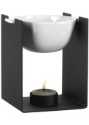 Trendform Berlin Steel/ Ceramic Aroma Therapy Stand