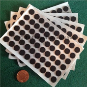 60 Self Adhesive Small Magnetic Dots Magnets 12mm Disc Round Thick Sticky Craft