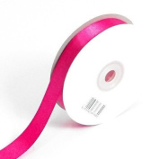 Hot Pink Double Faced Satin Ribbon. 3mm x 50meters Per Reel