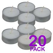 PACK 20 TEA LIGHT CANDLES