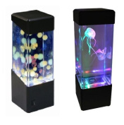 Jellyfish Water Ball Tropical Fish Aquarium Tank Mesmerising LED Lights Relaxing Mood Lamp Light by Playlearn