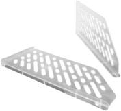 Bisley Dividers for Slotted Shelf Grey Ref BSD [Pack of 5]