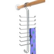 InterDesign, Interdesign, Classico, Tie And Belt Rack, Chrome