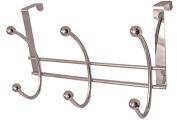 Headbourne HR3140C Chromed Steel Over The Door Hanger