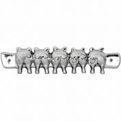 Pig's Bums Key Hook Tails