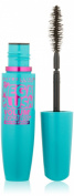Maybelline New York Volume Express Mega Plush Waterproof Mascara, Brownish Black, 0.3 Fluid Ounce