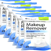 Nu-pore Makeup Remover, Cleansing and Moisturising Wet 25 Towelettes