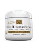 Vitamin E Night Repair Creme, Vital Care Age Defying Antioxidants, 4 0z