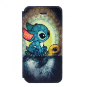 Doinshop Dream Disney 3d Stitch Leather Case Cover for Iphone 5 5s 5g