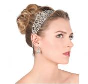 Wiipu Rhinestone Bridal Headband Wedding Crystal Headband