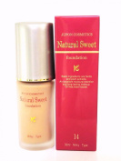 JUPON COSMETICS Natural Sweet foundation 14 Light Brown 30ml