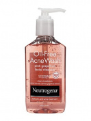 Neutrogena Oil-Free Acne Wash Pink Grapefruit Facial Cleanser 177 ml.