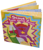 A Great Potty Training Tool! - Scout the Super Dooper Pooper - Award Winning Potty Training Storybook with Toilet Training Stickers