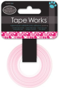 Red Foil Hearts Tape Works Tape Roll
