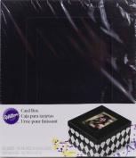 Wilton Black and White Argyle Print Card Box