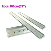 8pcs For Each Kinds Aluminium Alloy Handle Screen Printing Squeegee ... (100cm