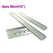 4pcs For Each Kinds Aluminium Alloy Handle Screen Printing Squeegee(30cm