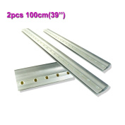 2pcs For Each Kinds Aluminium Alloy Handle Screen Printing Squeegee (100cm