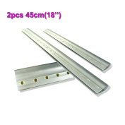 2pcs For Each Kinds Aluminium Alloy Handle Screen Printing Squeegee (45cm