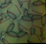 12x12 Paper - Softballs - 4 Sheets