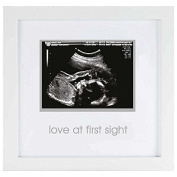 COMING SOON Pearhead / Babyprints Sonogram White frame Small - 3x4