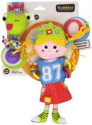Baby Rattle And Plush Doll - Musical Princess and Frog Play Set