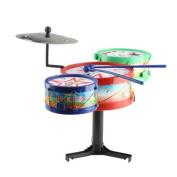 Vktech® Children Musical Instruments Toy Kids Colourful Plastic Drum Drum Kit Set