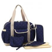 Multifunctional Mummy Large Capacity Handbag Tote Shoulder Bag Baby Nappy Nappy Bag