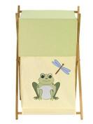 Leap Frog Childrens Kids Baby Laundry Hamper by Sweet Jojo Designs